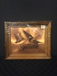 New-copperama Flying Mallards 3d Picture 12 X 10
