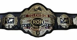 Roh Ring Of Honor World Television Wrestling Championship Title Belt 4mm Plate