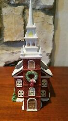 Dept 56 New England Village Series Old North Church 59323 Excellent Retired