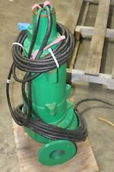 New Myers 1.5hp Explosion Proof Sewage Pump  Vertical 3ux15m4-03