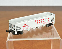 Aurora Postage Stamp Trains Trix N Scale Southern Pacific Hopper Car 4886
