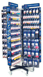 GROTE 8 SIDED ELECTRICAL ACCESSORY DISPLAY 01062