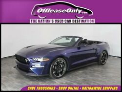 2019 Ford Mustang V8 GT Premium Convertible RWD 2019 Ford Mustang V8 GT Premium Convertible RWD
