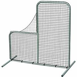 Champro Baseball Pitching Safety Protective L-screen Net - 7and039x7and039 W/ 40 Drop