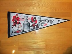 2008 Stanley Cup Finals Pennant Detroit Red Wings Vs Pittsburgh Penguins