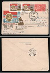 Russia/ussr 24/iv-67 Poastal Stationery Covers With Original Stamp Cto Alma-ata