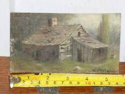 W H Yates Listed Artist Miniature Painting