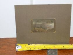 W H Yates Listed Artist Miniature Painting On Mica