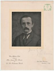 Rare Peter Pan Author- James Barrie Signed 1896 Program Autograph + Many Others