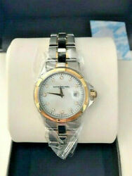 Raymond Weil Watch Womenand039s 9460 And039parsifaland039 Two-tone Stainless Steel - New Box