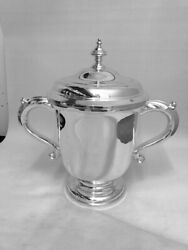 Solid Silver Cup - Sheffield - 1937 By Henry Atkins