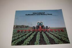 International Cultivators And Rotary Hoes Brochure