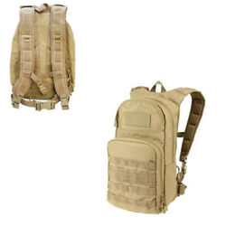 Molle Fuel Hydration Pack Pals Water Carrier Backpack 2.5 Liter - Tan
