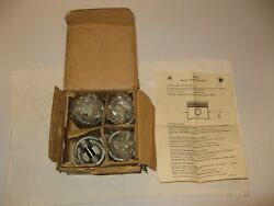 Nos Piston And Ring Set X4 - Fits Nissan Datsun 1000 - Hepolite - 2.874 Bore
