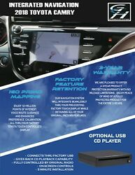 INTEGRATED NAVIGATION FOR 2018-2020 TOYOTA CAMRY AND SIENNA