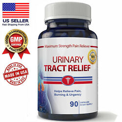 Advanced Uti Urinary Tract Infection Relief Pain Burning Caps Pill Free Shipping