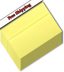 Pastel Yellow Canary Envelopes For Announcement Wedding Invitation Greeting Card