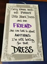 Friendship Plaques Gifts For Women Best Friend Party Birthday Thank You Decor