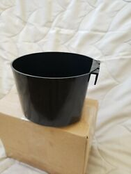 Large Cage Cup 4 cups Chicken Feed and water cup 12pk Black. Made in USA