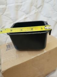 Small Cage Cup/1 1/2 Cups/chicken Feed And Water Cup/blk100 Bulk Pk Made In Usa