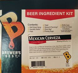 Mexican Cerveza Brewerand039s Best 5 Gallon Beer Ingredient Kit Classic