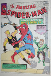 Amazing Spider-man 16 Cover Recreation - Daredevil - Color Art By Fred Hembeck