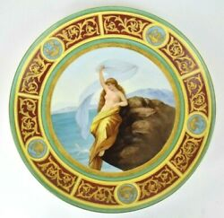Beautiful Royal Vienna Lorely Hand Painted Porcelain Cabinet Plate 15