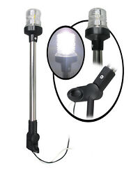 Pactrade Marine Boat Pontoon All Round Anchor Led Navigation Light 16and039and039h Uscg