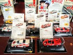 Kyosho Circuit Wolf mini car collection 1/64 scale metal model All 8 types/Set