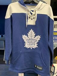 Men's 2019 Toronto Maple Leafs Blue/white Breakaway - Lace-up Pullover Hoodie