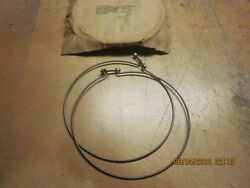 International Harvester Front Axle Steering Knuckle Clamps Nos Circa 40and039s 50and039s