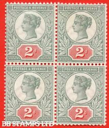 Sg. 199. K30 1. 2d Green And Scarlet. A Very Fine Mint 3 Stamps Unmount B46889
