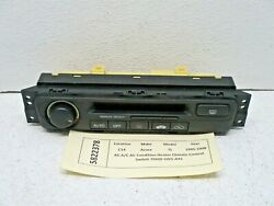 Acura TL AC A/C Air Condition Heater Climate Control Switch 79600-SW5A41 1995-98