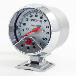 Tachometer 0-10000 Rpm White Face With Selectable 7-colour Backlight