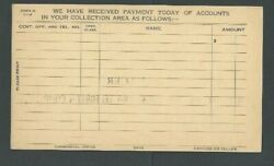 Ca 1923 New England Telephone And Telegraph Co Payment Records Unposted