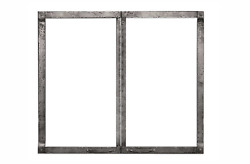Empire Ddf40cpd Decorative Forged Iron Doors With Frame For Dvct40 Fireplaces