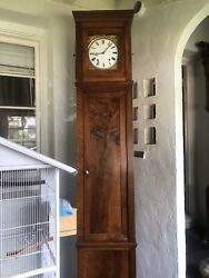 1780andrsquos French Verge Dial Is Sign Landaacuteval Handrsquoger A Riom Grand Father Clock