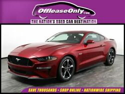 2019 Ford Mustang V8 GT Coupe Fastback RWD Off Lease Only 2019 Ford Mustang V8 GT Coupe Fastback RWD Premium Unleaded V-8 5