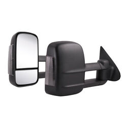 Power Operated Towing Mirror with Heat  & Glass Signal for Chevy/GMC Truck 03-06