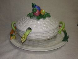 Fitz And Floyd Vegetable Soup Tureen - Underplate/platter - Ladle