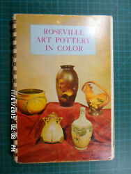 Roseville Art Pottery In Color 1970 With 1976 Updated Price Guide Insert