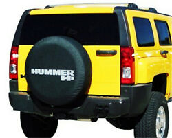 32 33 Spare Wheel Tire Cover For Hummer H3 Denim Vinyl Tyre Covers Silver Logo