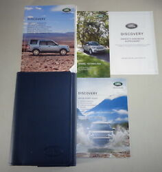 Document Kit + Manual Owner's Manual + Wallet Land Rover Discovery Stand 2015