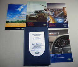 Document Kit + Manual Owner's Manual + Wallet Land Rover Discovery 4 Stand 2011