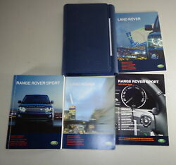 Document Kit + Manual Owner's Manual + Wallet Range Rover Sport Stand 2009