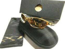 OAKLEY MENS SUNGLASSES Titanium Polarized JULIET X-METAL 24K Collection FS