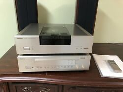 VICTOR JVC XL-Z999 CD Player Transport 20 bit K2 & VICTOR XP-DA999 DAC RARE!!!
