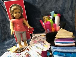 American Girl Doll Clothes Patterns 17 And Remnants Includes Isabelle Doll