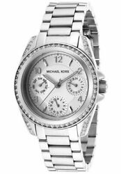 New Michael Kors Women's MK5612 'Blair' Silver Stainless Steel Watch