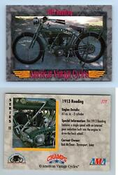 Reading 1913 #171 American Vintage Cycles Series 2 1993 Champs Card